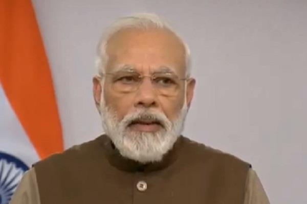 india shows a ray of hope to the world trapped in violence hatred modi