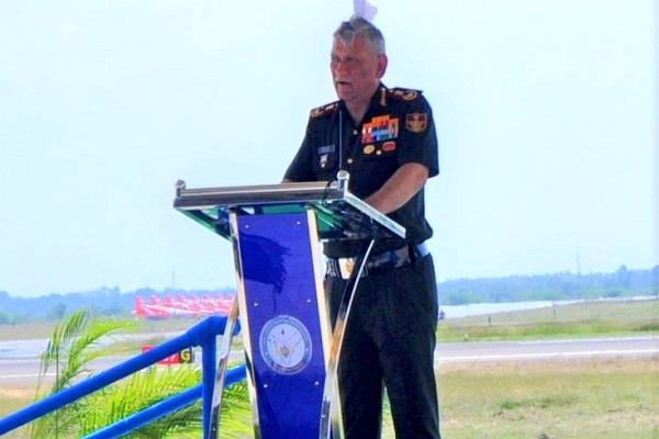 cds rawat bluntly on pakistan three forces always ready for any option