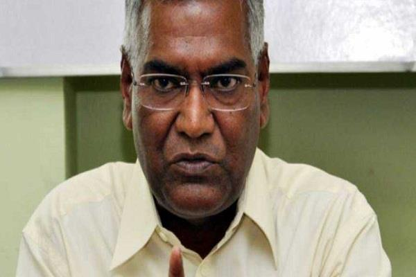 bjp rss created conditions like civil war in the country d raja