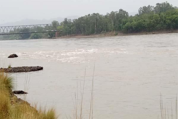 manali iceberg chenab river flow stopped