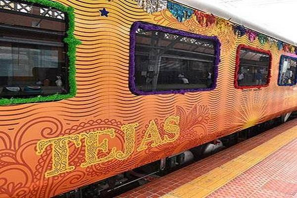 irctc s tejas express between ahmedabad mumbai from tomorrow