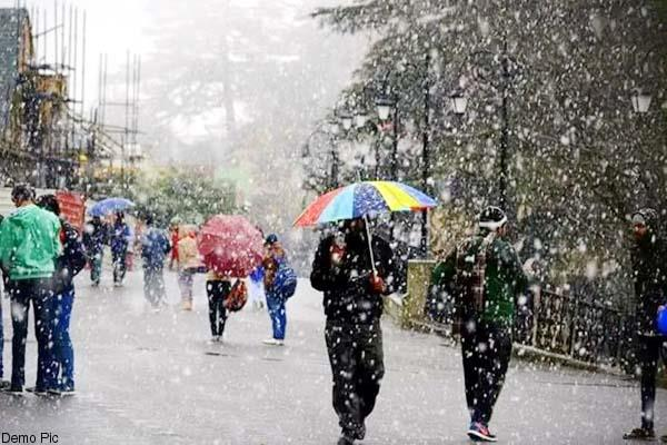 likely to get snow for 4 days in himachal