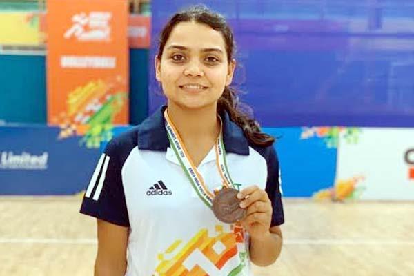 bronze medal won at khelo india youth games