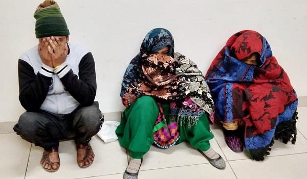 sex racket busted three arrested