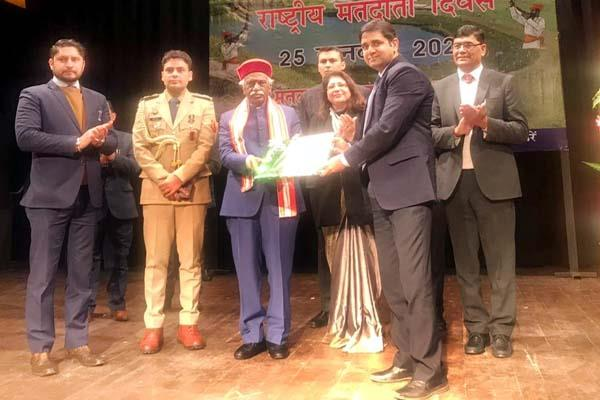 ias officer yunus khan get state level award