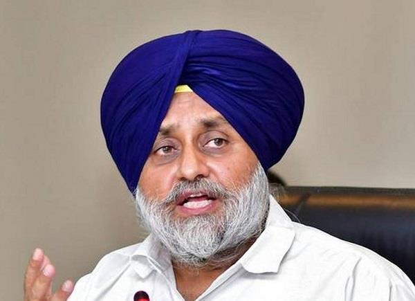 sukhbir badal speak on congress