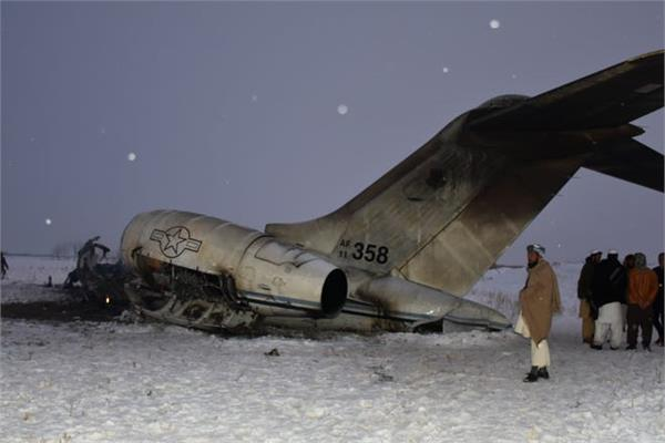us army monday plane crash afghanistan dead body