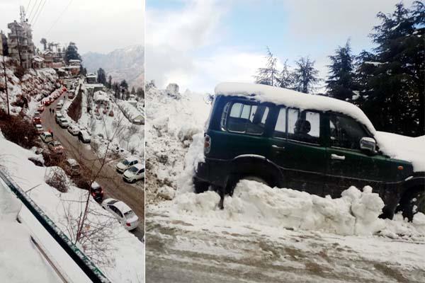 snowfall again in himachal