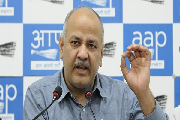sisodia challenges shah show a government school like delhi in bjp ruled state