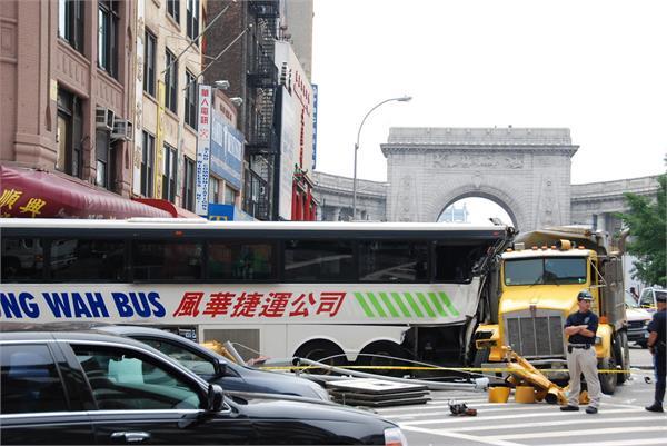 china road bus beijing injury