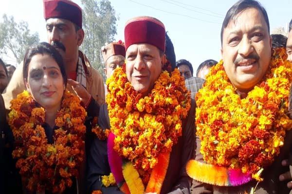 bjp president rajeev bindal s big attack on congress