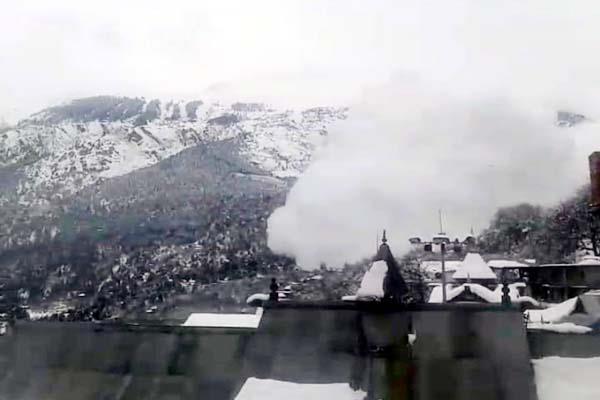 glacier in kinnaur