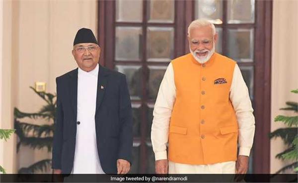 modi nepal k p sharma oli republic day friend