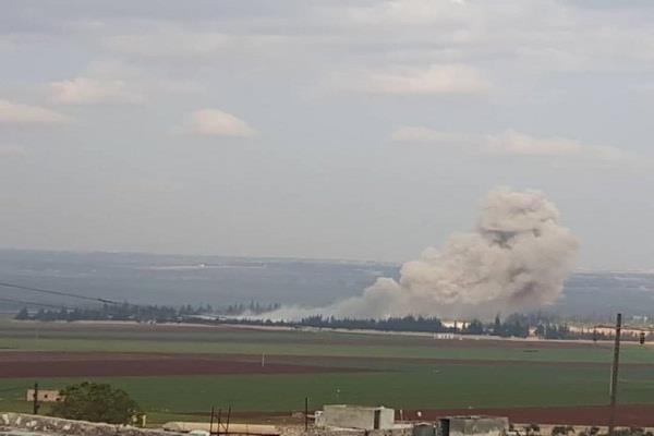 23 civilians died in syria in russia air strike