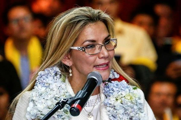 bolivia president resign ministers sunday