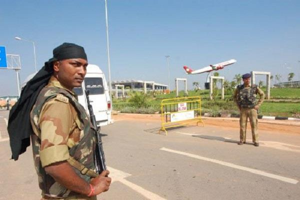 changes in security of jammu srinagar airport after devender s arrest