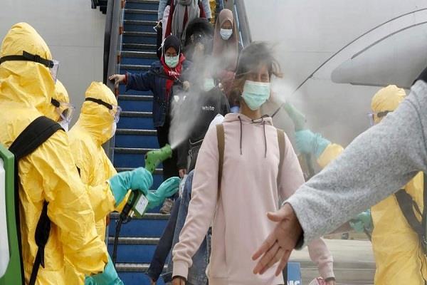 corona virus more than 50 000 passengers checked at mumbai airport