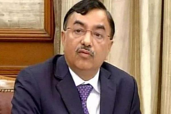 j k will be delimited sunil aroda appointed sushil chandra as representative