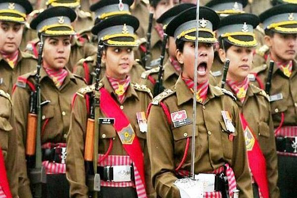 women deprived of providing war services in indian army right now