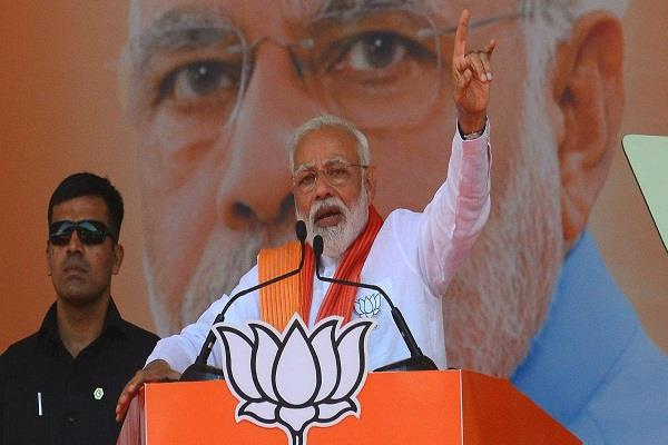 pm modi to hold election meeting in delhi today