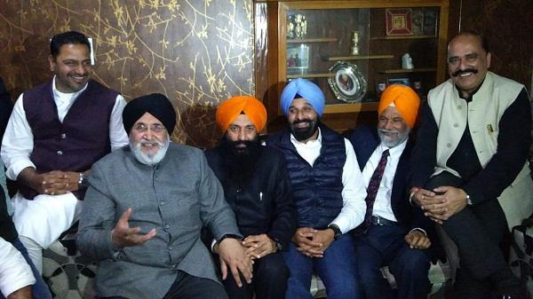 dhindsa and his son was involved in every decision of the party majithia