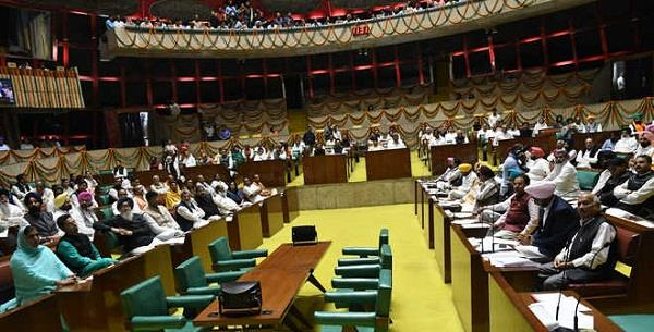 even today punjab assembly session can be ruckus