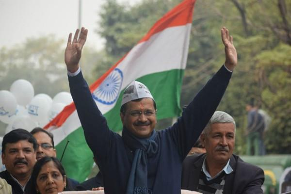 delhi election result aap workers happy