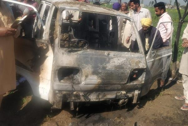 bought school van killing 4 children for 20 thousand from scrap