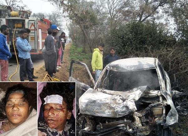 mother son died in accident