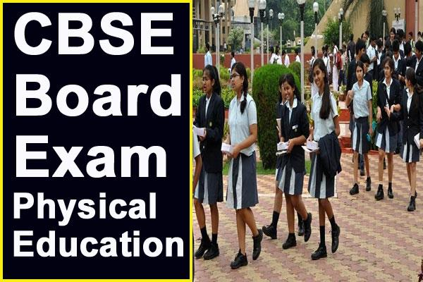 cbse board exam how to score 100 in physical education class 12