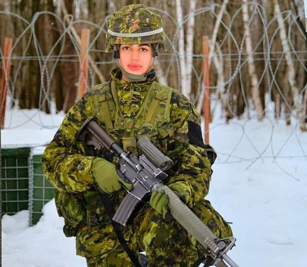 faridkot daughter first punjabi woman officer canadian armed force