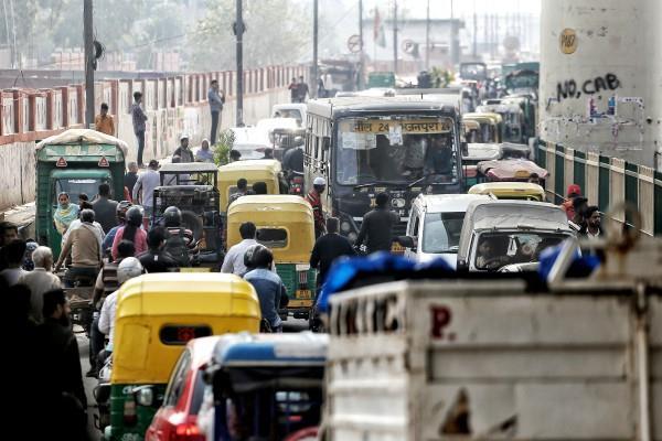 advisory of delhi traffic police on trump visit