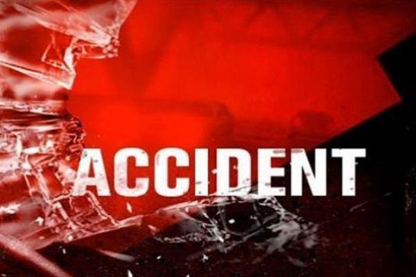 tragic accident elderly death due to truck grip driver absconding