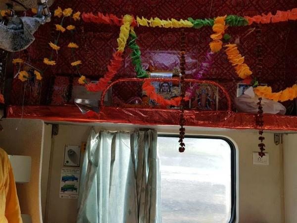 a seat reserve for lord shiva in kashi mahakal express