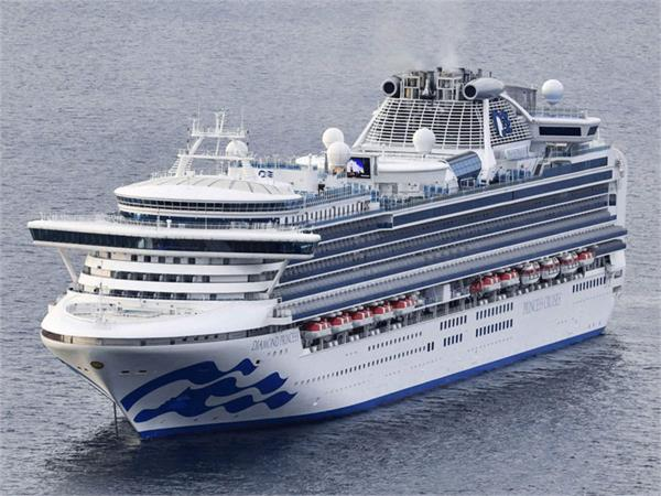 at least 10 on japanese cruise ship infected with corona