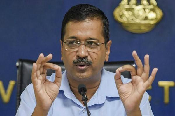 kejriwal called a meeting on delhi violence