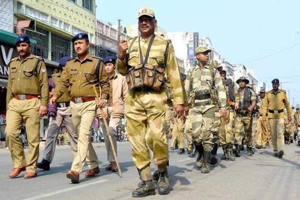 arrangement for security of defense expo 2020 held in lucknow