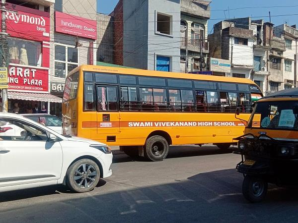 action will be taken for violation of safe school vehicle policy