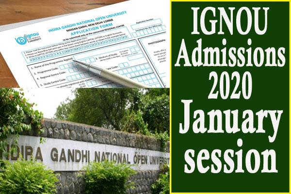 ignou re registration date for january 2020 extended