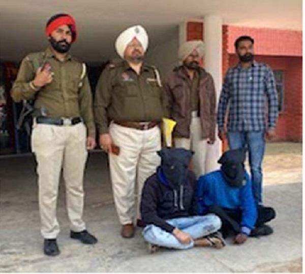 2 members who robbed wheat from godown were controlled