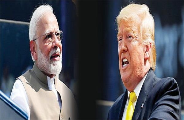 trump modi s big mistake in front of 1 lakh people trolled on social media