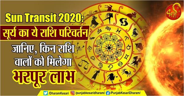 sun transit 2020