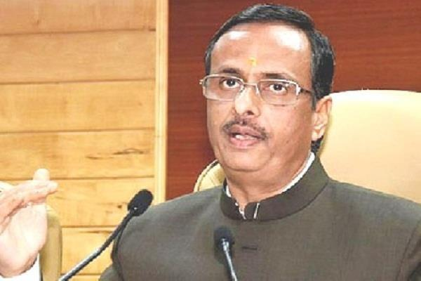 deputy cm dr dinesh sharma wishes the board candidates