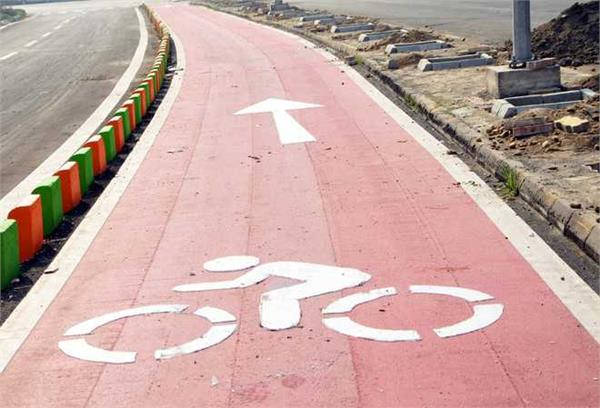 544 people caught riding bike on bicycle track