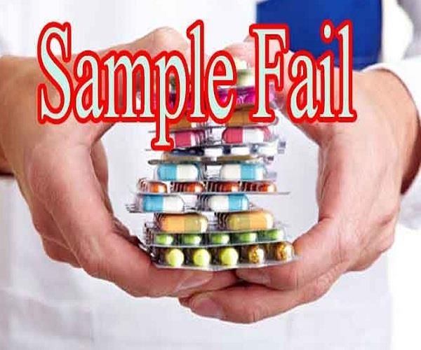 samples of 34 drug failures from 15 states including himachal