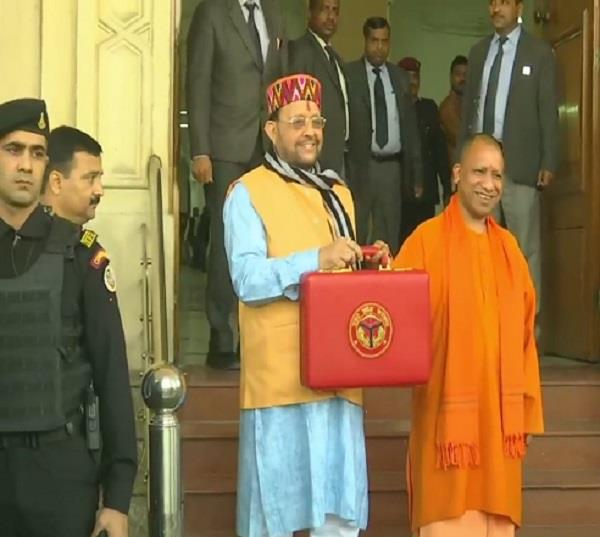 yogi government presented the biggest budget of up