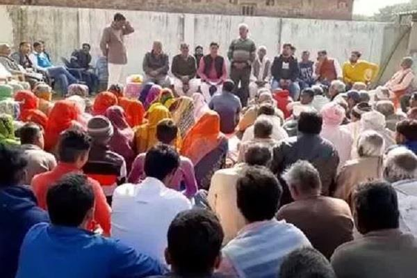 farmers opened front in ayodhya city of ramlala refused to give land