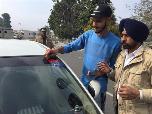 mohali police cut 35 invoices