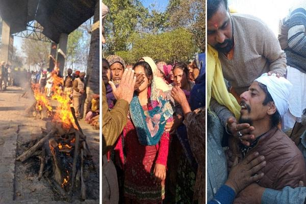 last rites of 4 innocent children burnt alive in longowal