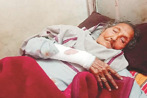 charge on bsf jawan for assaulting elderly woman